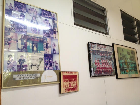 Colbar Football Club Collage