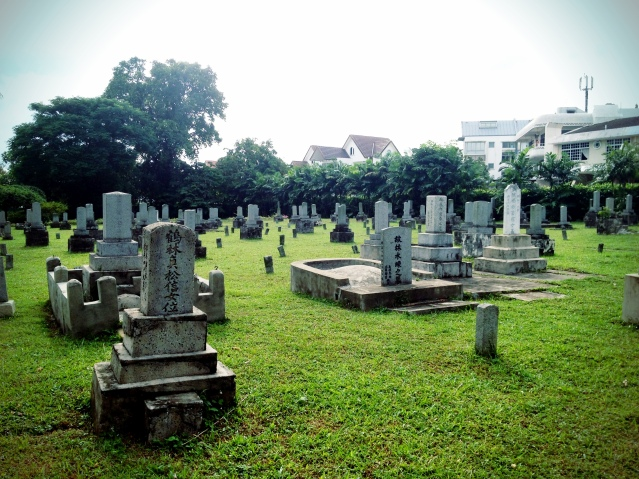 The three brothel owners bought grounds for the cemetery to serve as peaceful resting grounds for the Karayuki-san