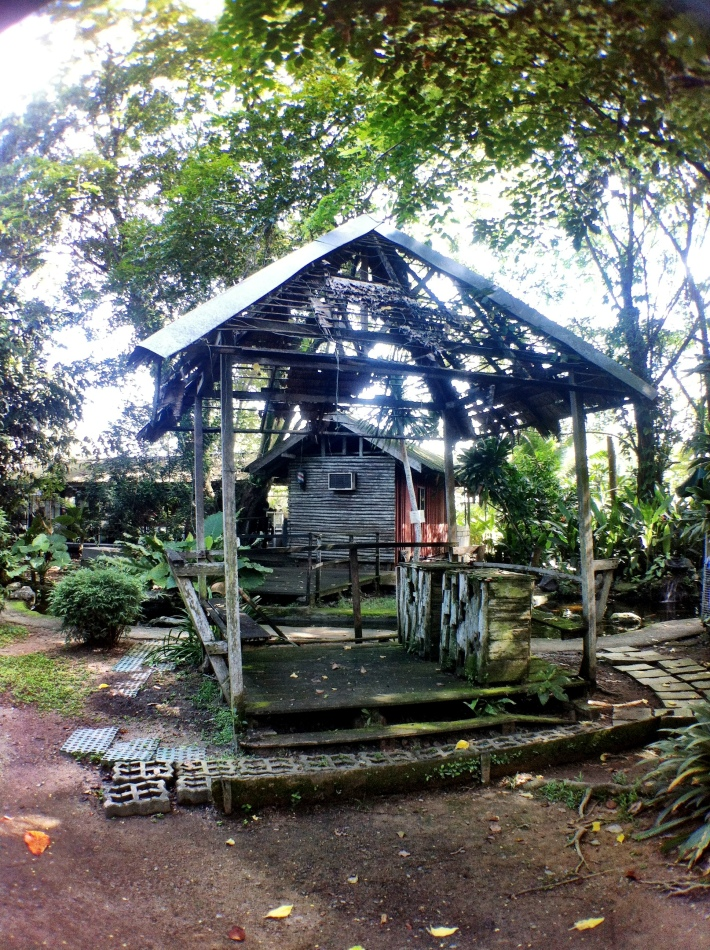 A former village hut?
