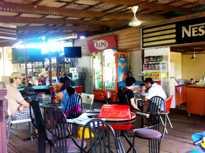 A little kampung cafe