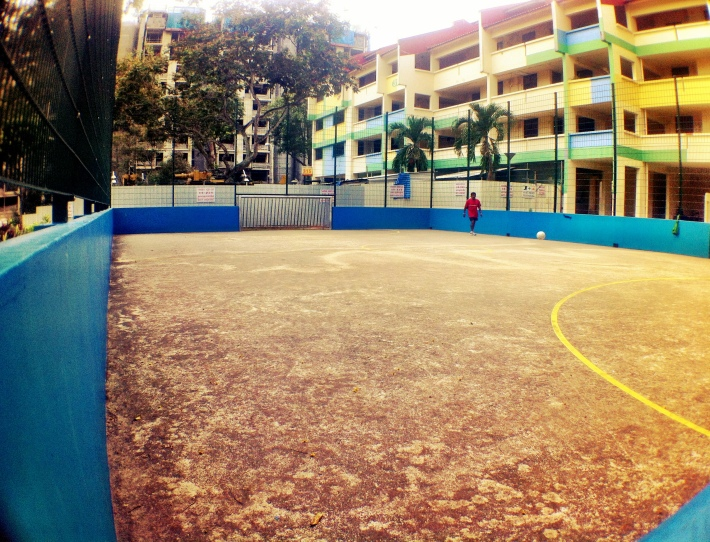 Street soccer court singapore