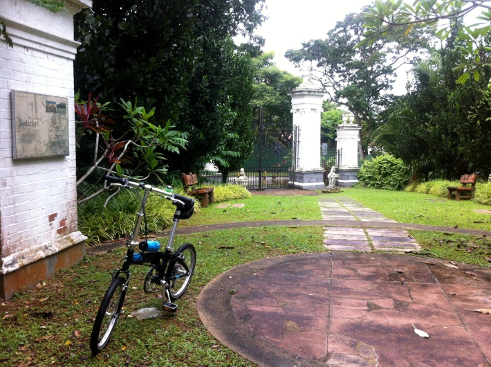 Inside the Bidadari Gardens located along Vernon Park and just beside the Gurkha Camp