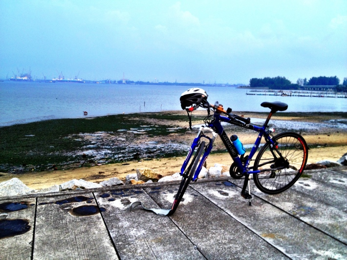 Once more at Seletar Dam, a place i personally like to call 'Singapore own little causeway'
