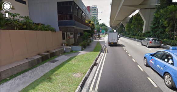 549 Upper Serangoon Road, the other possible site of where Basapa's Zoo was