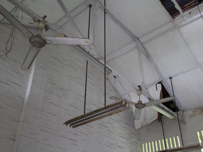 Old school ceiling fans