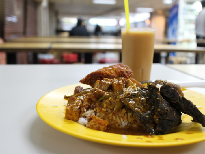 A plate of Nasi Padang can do no wrong