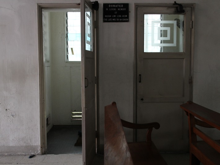 The confession rooms