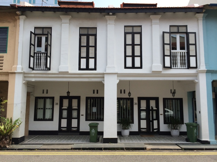 You can't forget your colonial styled shophouses