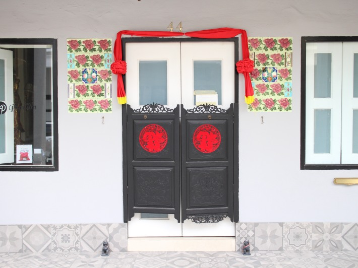 A strong Peranakan culture exudes from this house