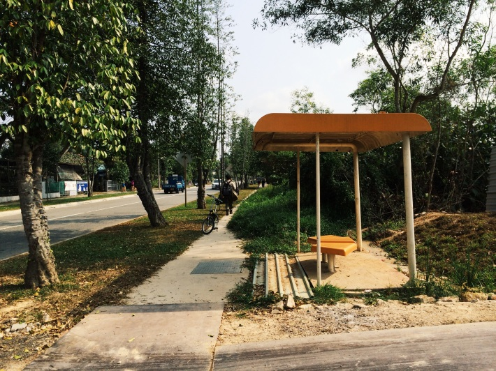 A familiar sight greets you as you enter Pasir Ris Farmway from Pasir Ris Drive 12