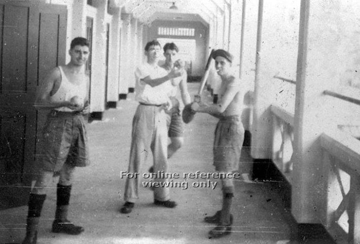 The former corridors of Gillman Barracks (1957). Image taken from the National Archives of Singapore.