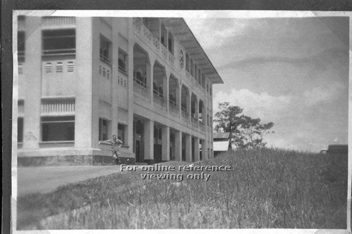 View of Gillman Barracks (1957). Image taken from the National Archives of Singapore.