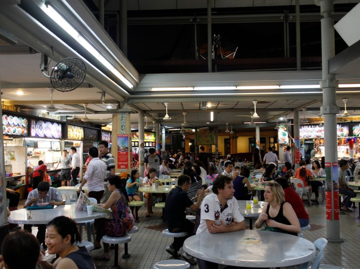 Patrons at Lavender Food Square come from all backgrounds, countries and personalities