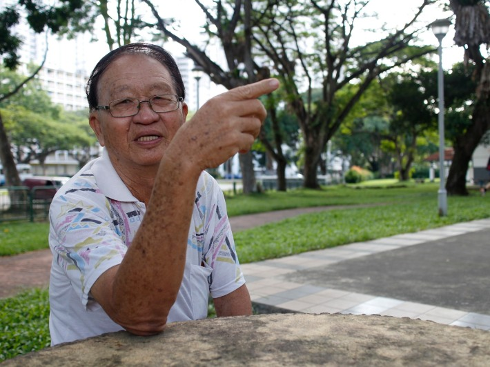 79-year old Mr Pang, who has lived in the area for over 40 years, shares his memories of the history of Tanglin Halt
