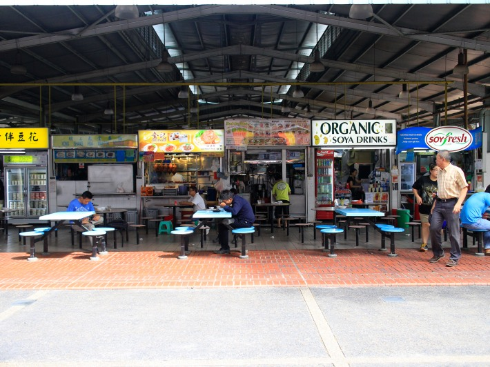 Just some of the many stalls that are will have to close by the end of September 2014 for renovation purposes. A temporary market has been set aside just across the road