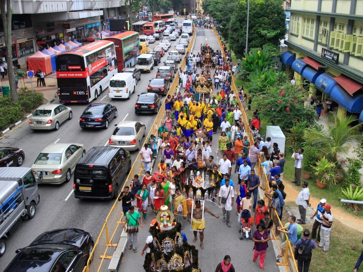 Thaipusam often sees a large number of Hindu devotees taking leave/time off to participate in this non-public holiday event.
