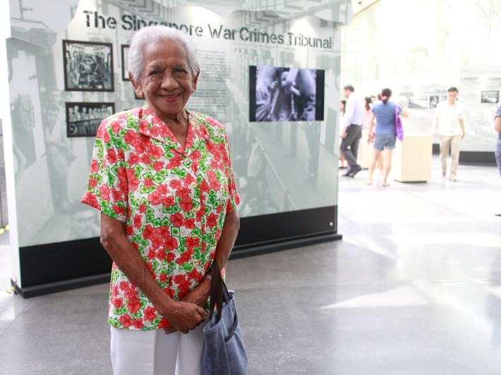 Helen Joseph, 85, was only 12-years old when the Japanese invaded Singapore.