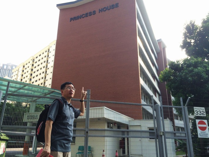 Aside from serving as the HDB's first headquarters, The Princess House, which is designed in the Modernist Architectural style, was also the site where the National Environmental Agency issued Hawker licenses to street vendors come 1972.