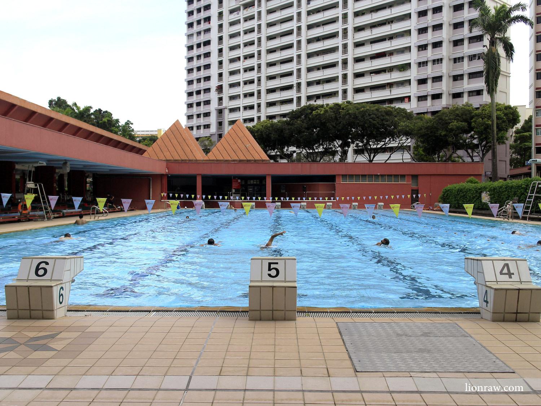 ang mo kio swimming complex the lion raw