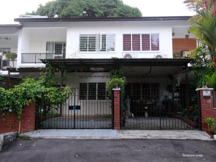 Chip bee gardens the village of holland village the for Terrace house singapore