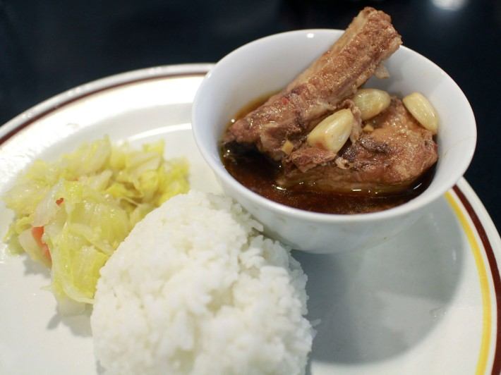 The Braised Pork Ribs are is a sweet and savoury dish favourited by many