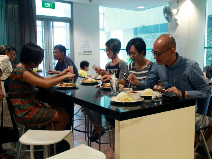 The best way to enjoy food at Mary's Kafe is with a good bunch of friends or family.