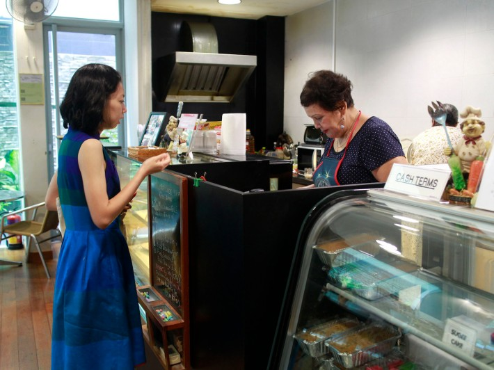 Chatting with Mary at the counter is like an old friend who knows what you prefer.