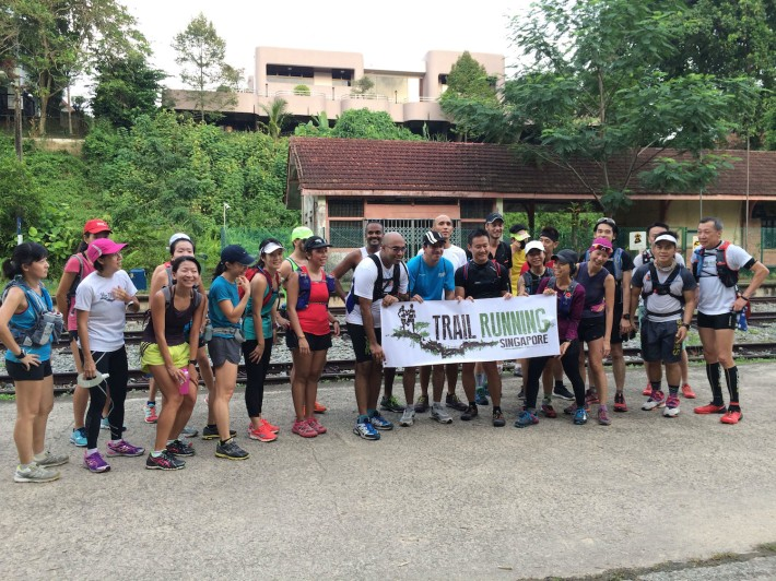 The Trail Running Singapore team is made up for running enthusiasts that help exchange tips and ideas on trail running while encouraging others to embrace the wonders of nature at the same time.