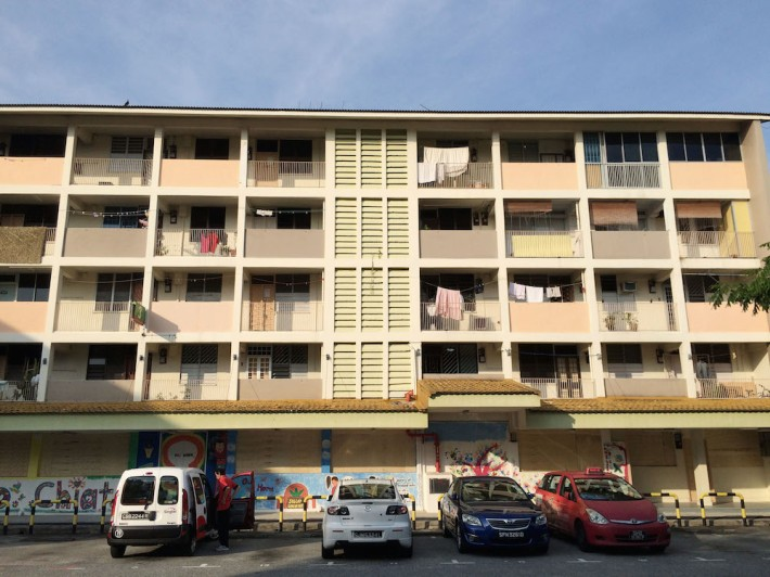 The unassuming flats in Siglap once lined the East Coast of Singapore before reclamation works began