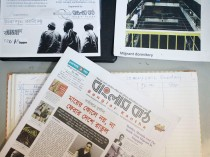 Started in 2006, the Banglar Kantha is distributed to the estimated 160,000 strong Bangladeshi Community in Singapore. Like any regular newspaper, it has a talent pool of some 60 writers, many of whom submit their articles via their mobile phones or even to Dibrasham's Facebook Page.