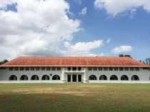 The Federal building is one of five two storey houses that were built to serve the students and faculty members of the original Raffles College.