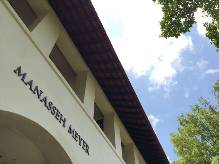 The Manasseh Meyer Block was named after Sir Manasseh Meyer, who along with notable philantropists like Eu Tong Sen, donated $100,000 each to contribute to the start of the campus.
