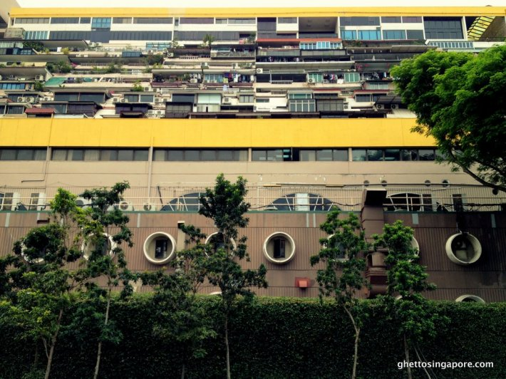 The terraced layers as viewed from Nicoll Highway. Photo from ghettosingapore.com