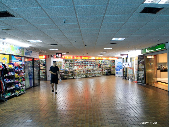 The odd medical and sundry shops help retain the old world charm of the centre.