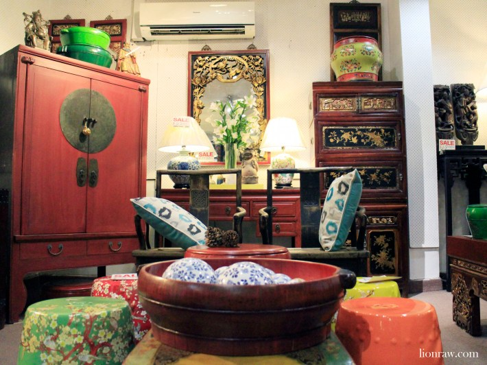 An array of accessories and furniture are just some of the many pieces the adorn the store.